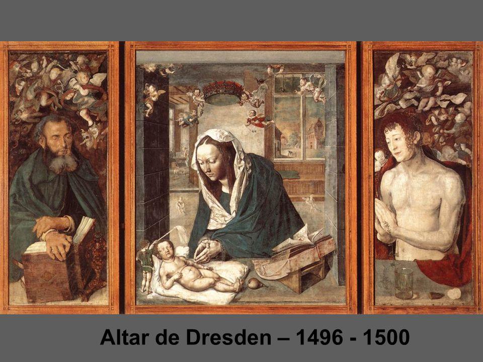 Altar de Dresden – 1496 - 1500