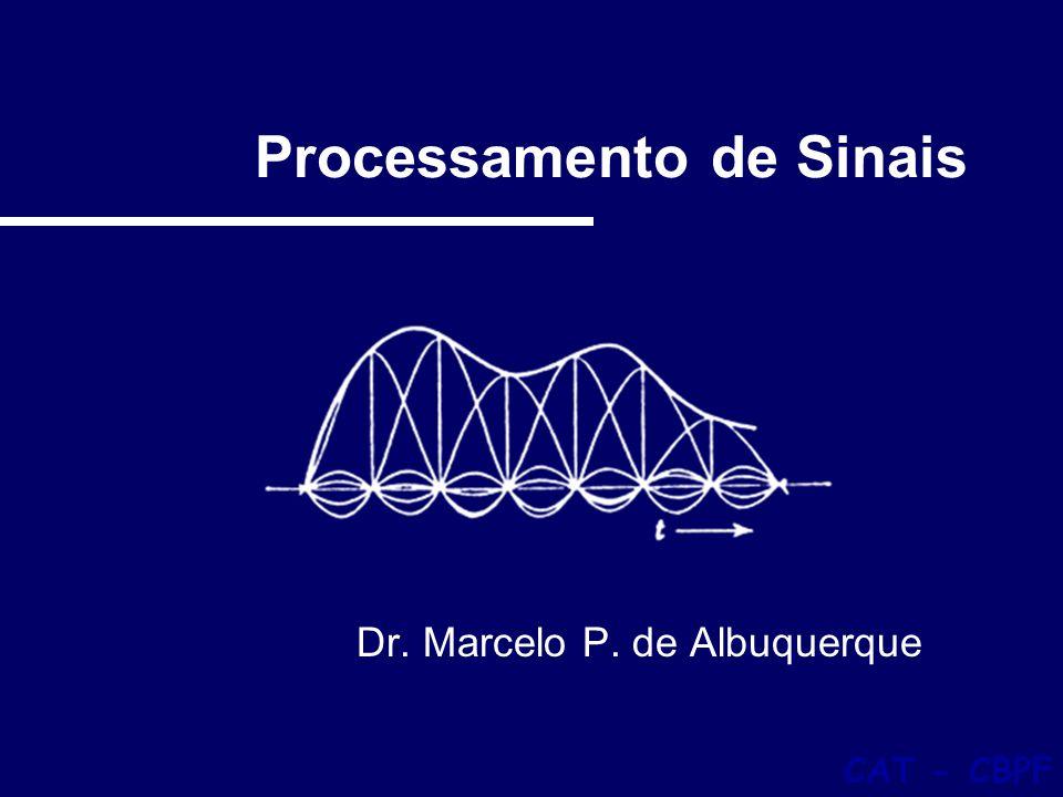 Filtragem 12 1- Introdução Sinal composto de três componentes senoidais de freqüências 50Hz, 110Hz e 210Hz.