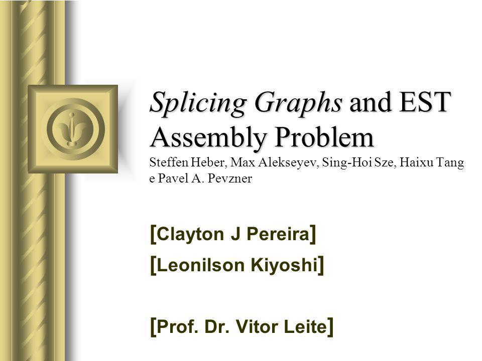 Construção de um Splicing Graph a partir de ESTs