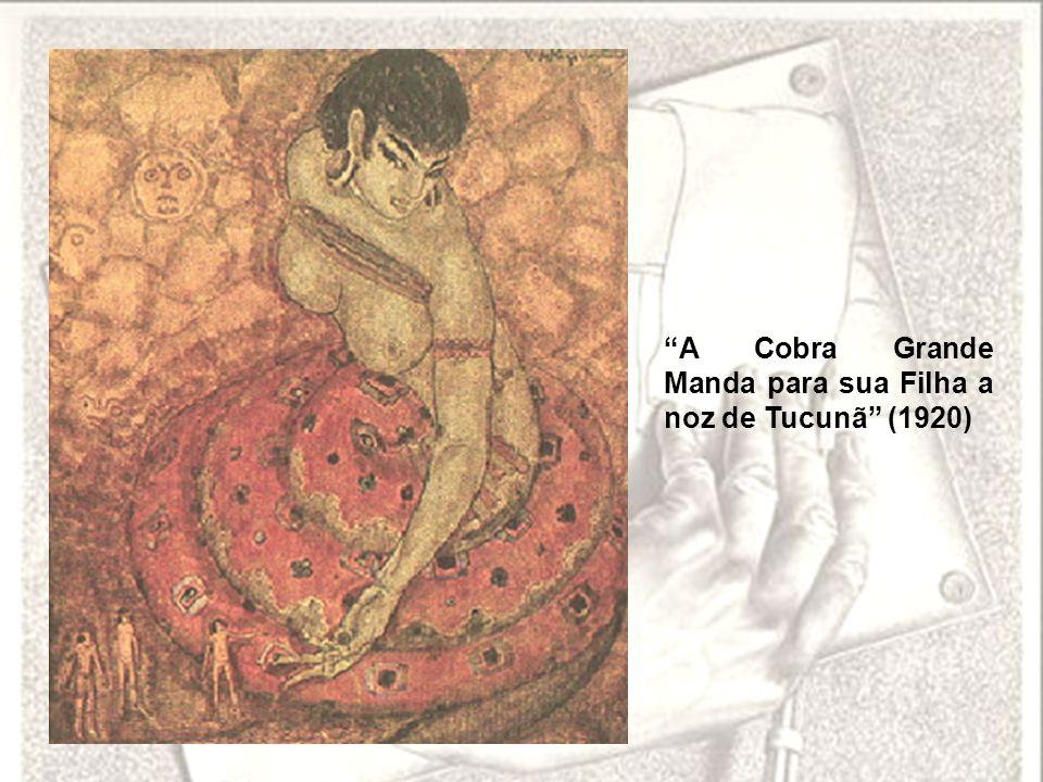 A Cobra Grande Manda para sua Filha a noz de Tucunã (1920)