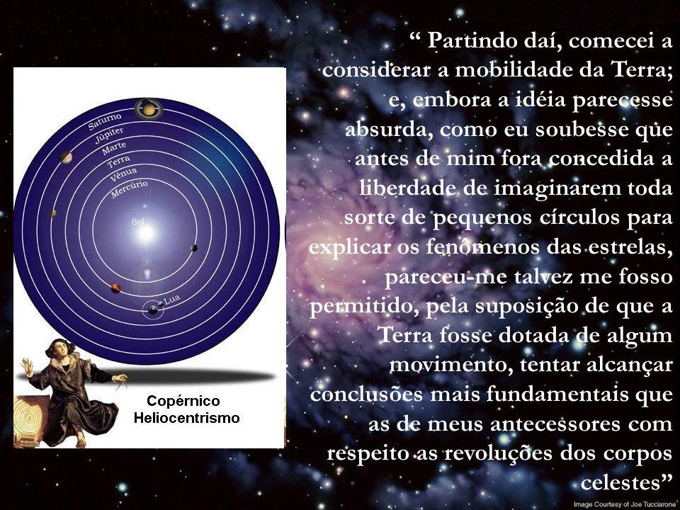 Sistema Heliocêntrico - movimento dos planetas