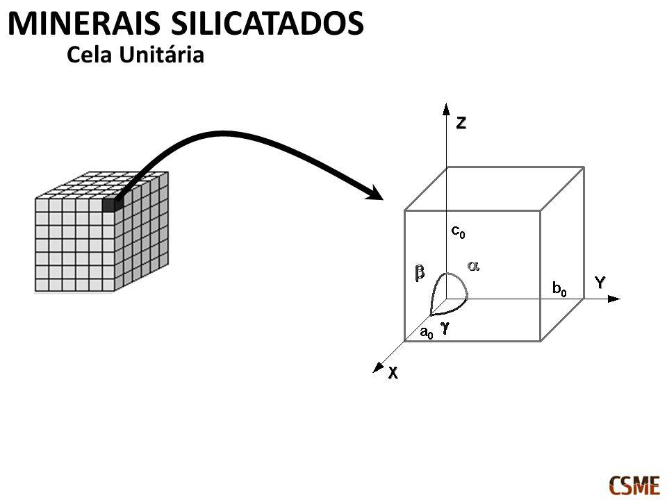 Cela Unitária MINERAIS SILICATADOS
