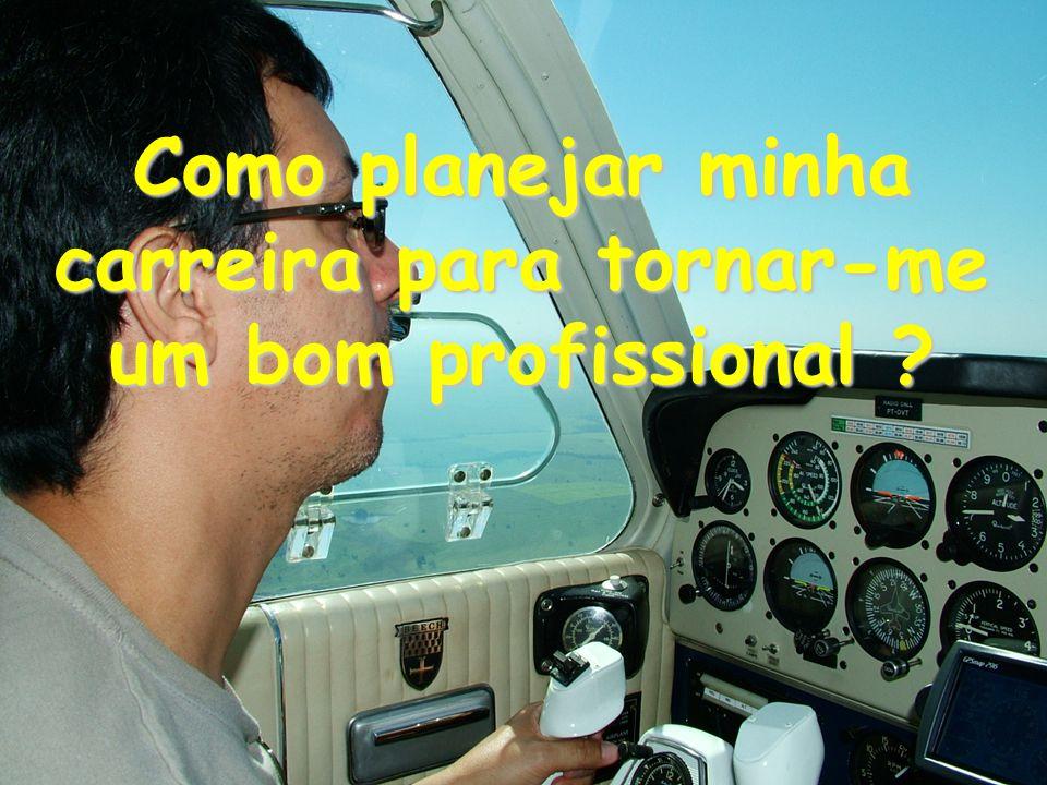 Como planejar minha carreira para tornar-me um bom profissional ?