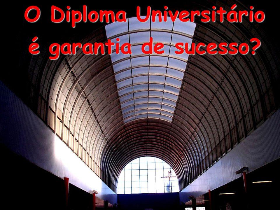 O Diploma Universitário é garantia de sucesso?