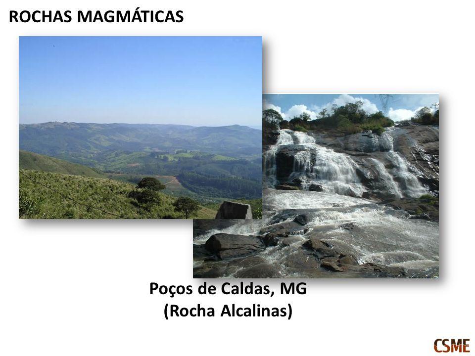 ROCHAS MAGMÁTICAS Poços de Caldas, MG (Rocha Alcalinas)