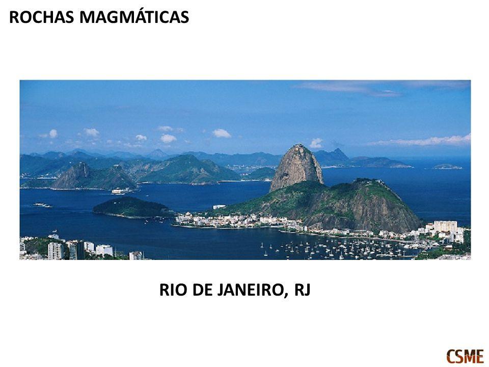 ROCHAS MAGMÁTICAS RIO DE JANEIRO, RJ