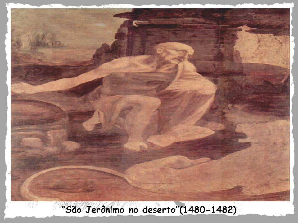 São Jerônimo no deserto(1480-1482)