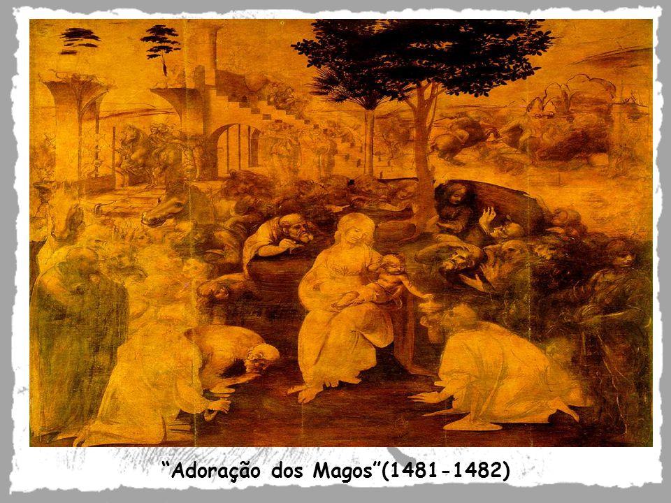 Adoração dos Magos(1481-1482)