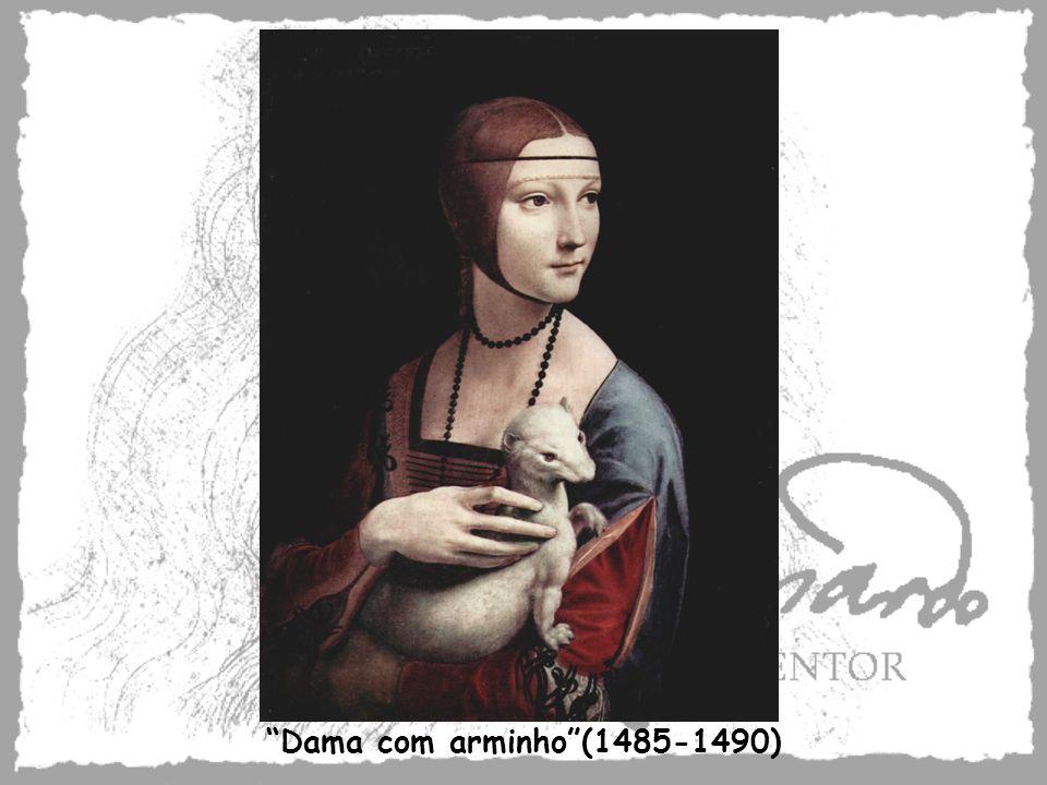 Dama com arminho(1485-1490)