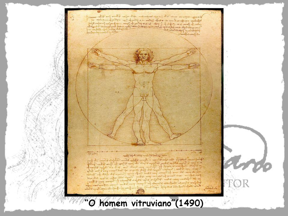 O homem vitruviano(1490)