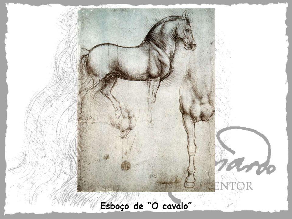 Esboço de O cavalo
