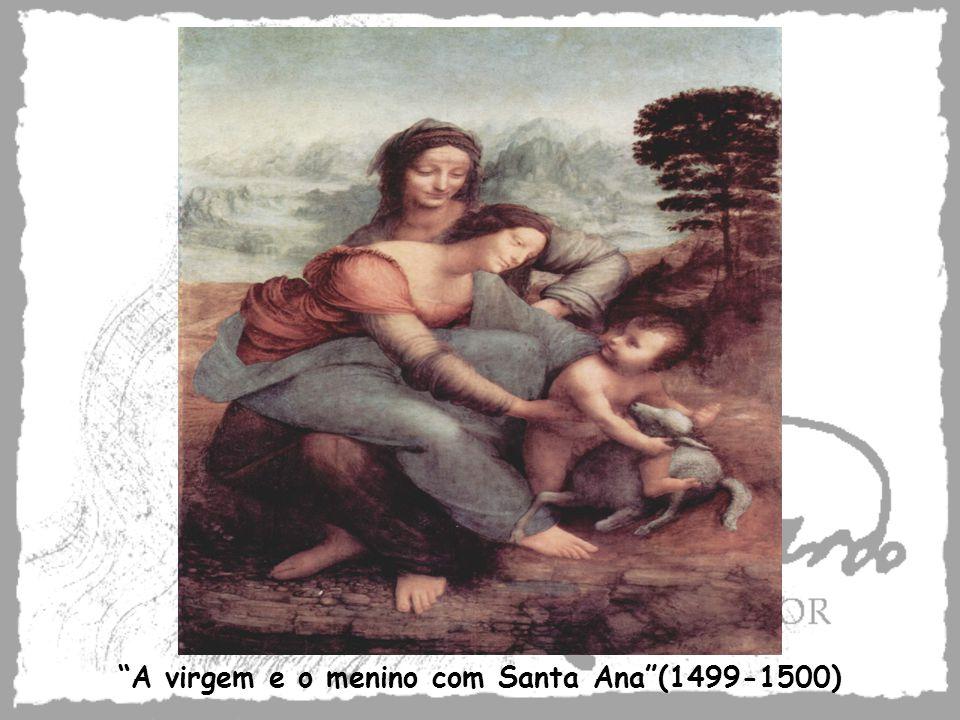 A virgem e o menino com Santa Ana(1499-1500)