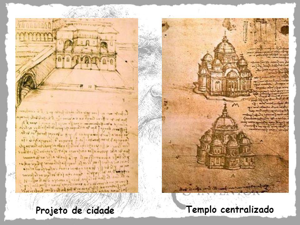 Projeto de cidade Templo centralizado
