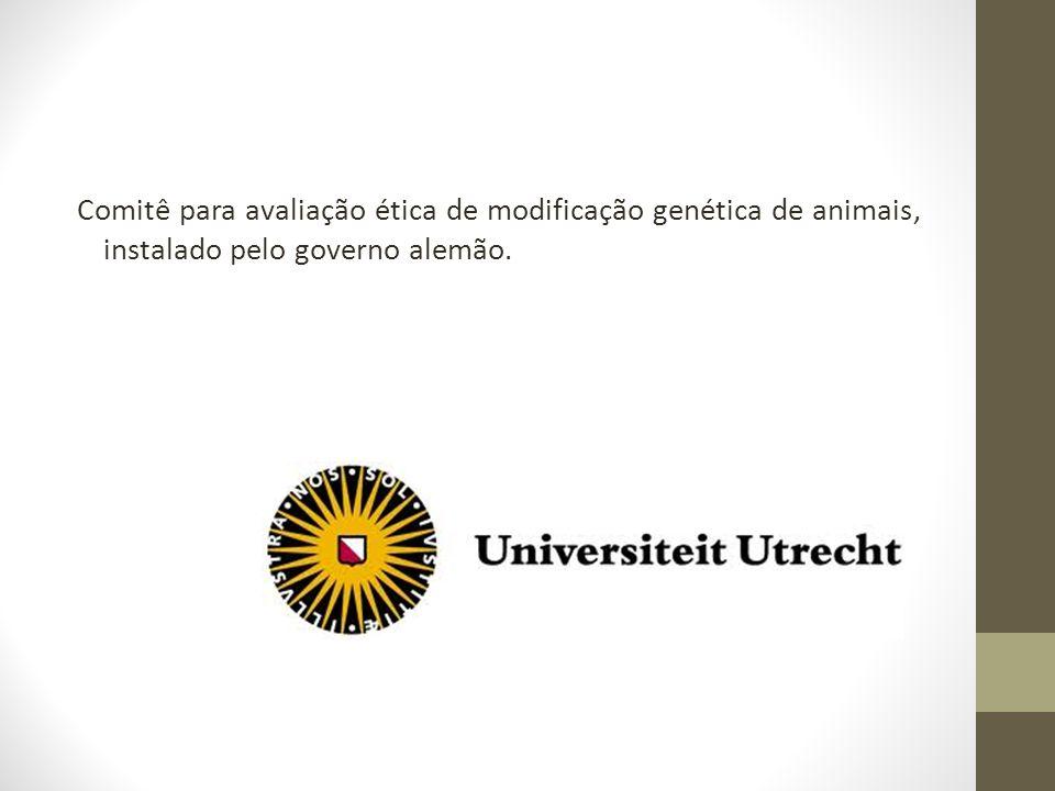 Comitê para avaliação ética de modificação genética de animais, instalado pelo governo alemão.