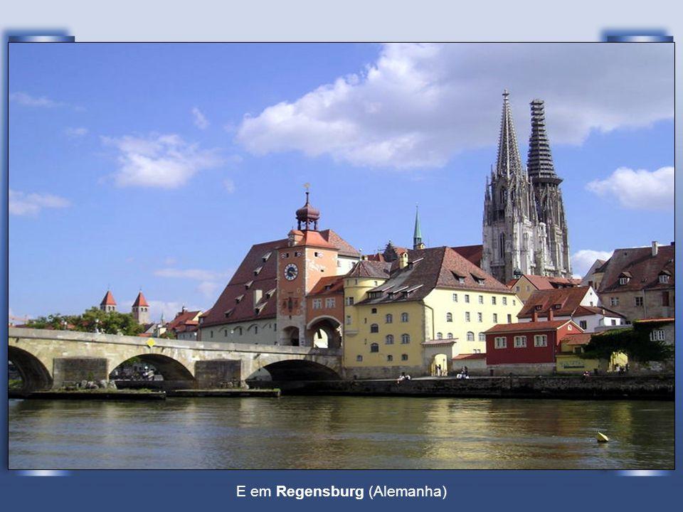 Passando em Ingolstadt (Alemanha)