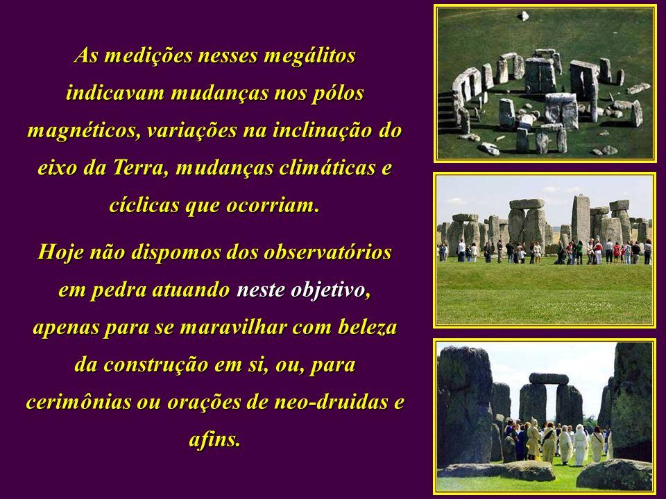Indicação dos solstícios no Megálito nas Colinas de Golã, alinhados em vários anos antes e depois da Era Cristã. - Livro de Sitchin - Se Por que foi n