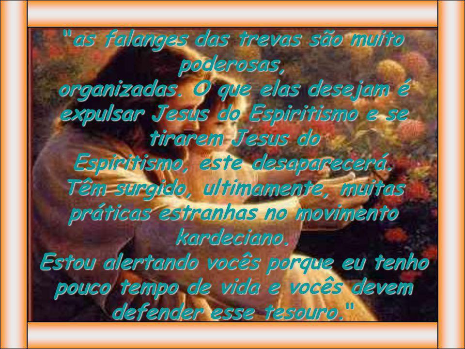 Posteriormente, numa entrevista cedida a confrades de Uberaba, Chico reafirma: Se tirarmos Jesus do Espiritismo, vira comédia.