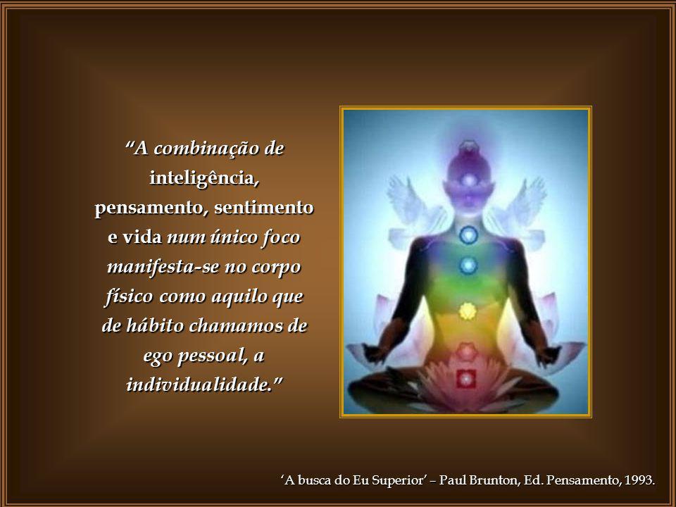 emanado princípio auto-consciência para poder contemplar o Criador de sua alma, face a face Este impulso, emanado diretamente do poder criador da divi