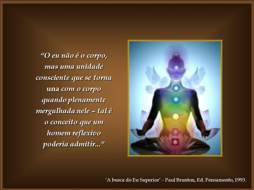 A combinação de inteligência, pensamento, sentimento e vida num único foco manifesta-se no corpo físico como aquilo que de hábito chamamos de ego pess