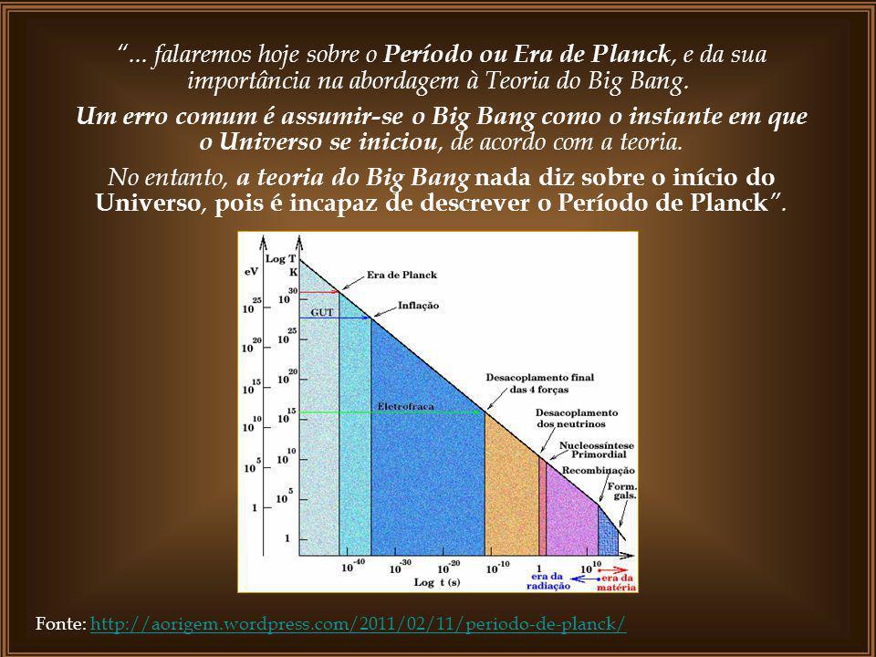 A Teoria do Big Bang, segundo alguns cientistas, explica a expansão do universo, mas, não a criação da matéria. Por isso, cientistas ainda buscam enco