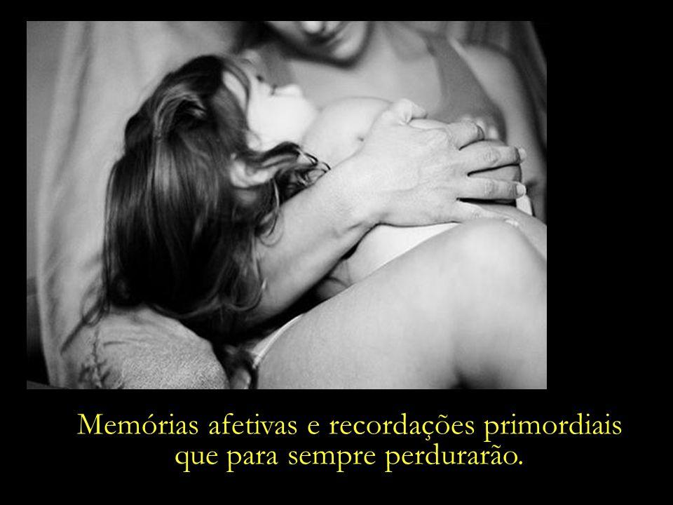 Memórias afetivas e recordações primordiais que para sempre perdurarão.
