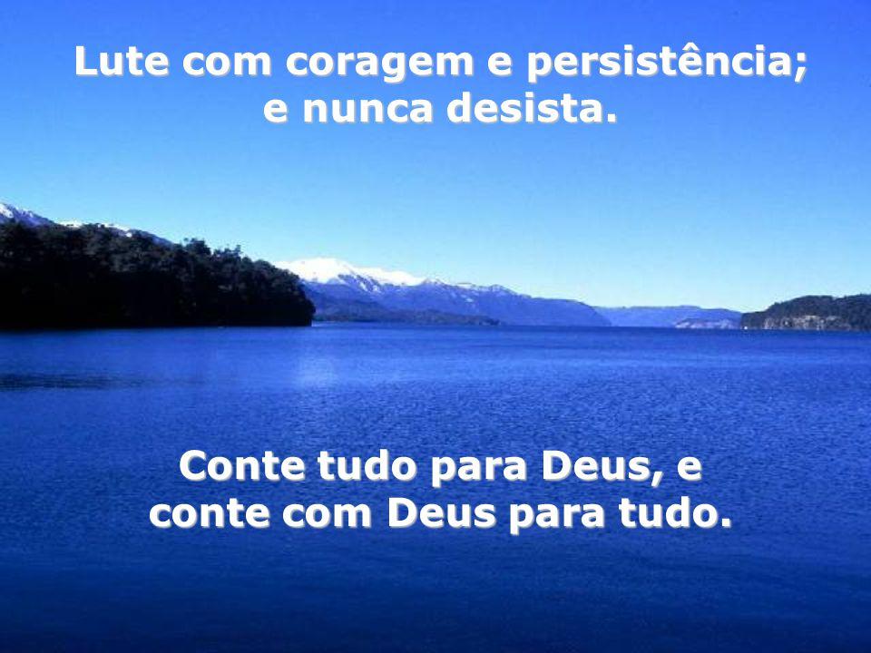 Não lamente pelo que ainda não te aconteceu, pelo sonho que Deus ainda não te concedeu. Entre Deus prometer prometer e Deus realizar, realizar, existe