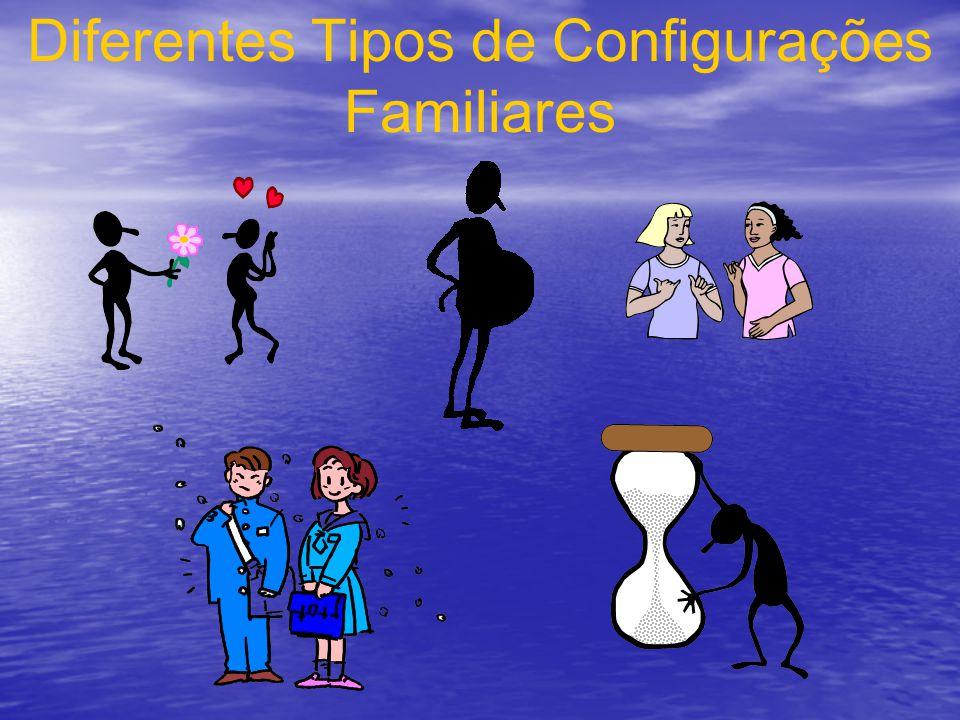 Diferentes Tipos de Configurações Familiares