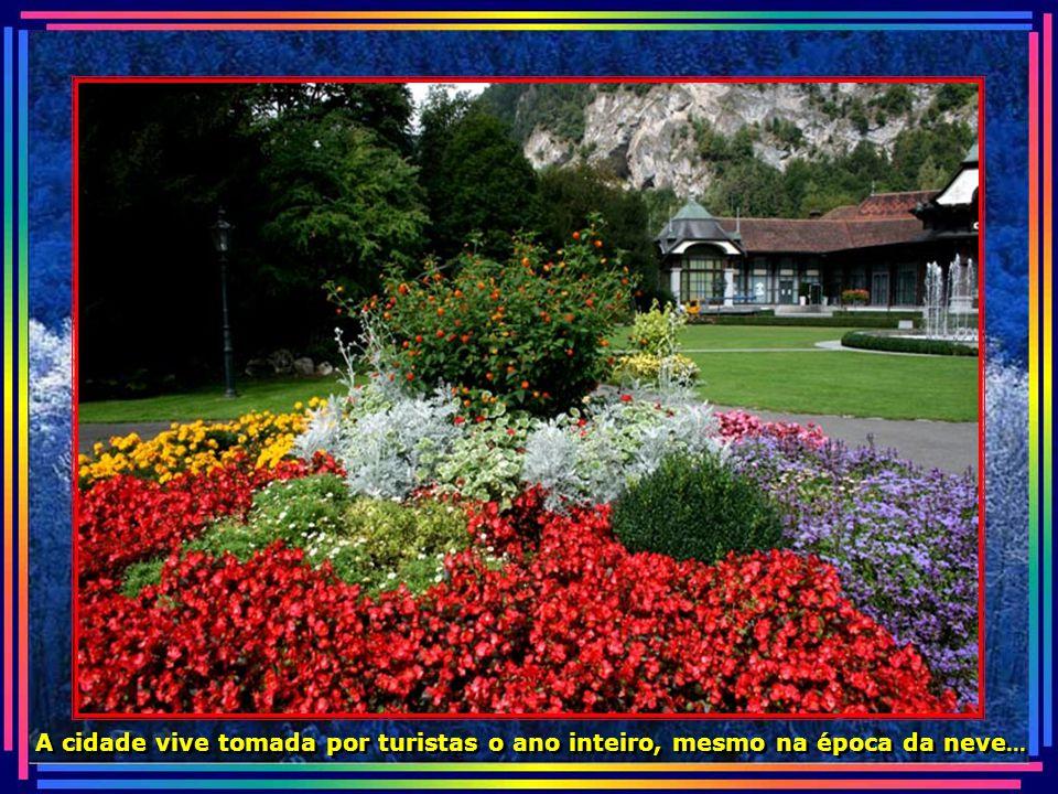 Interlaken é famosa, também, por ser local de esportes radicais...