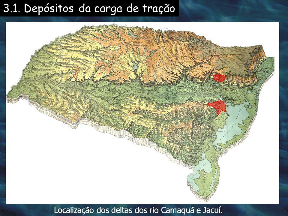 Mapa batimétrico e textural da Lagoa dos Patos Areia Lama