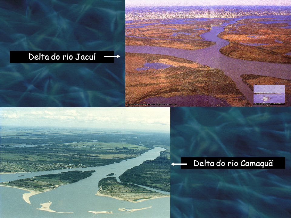 Barras arenosas do delta do arroio Velhaco Composição dos sedimentos das Barras arenosas, margem oeste