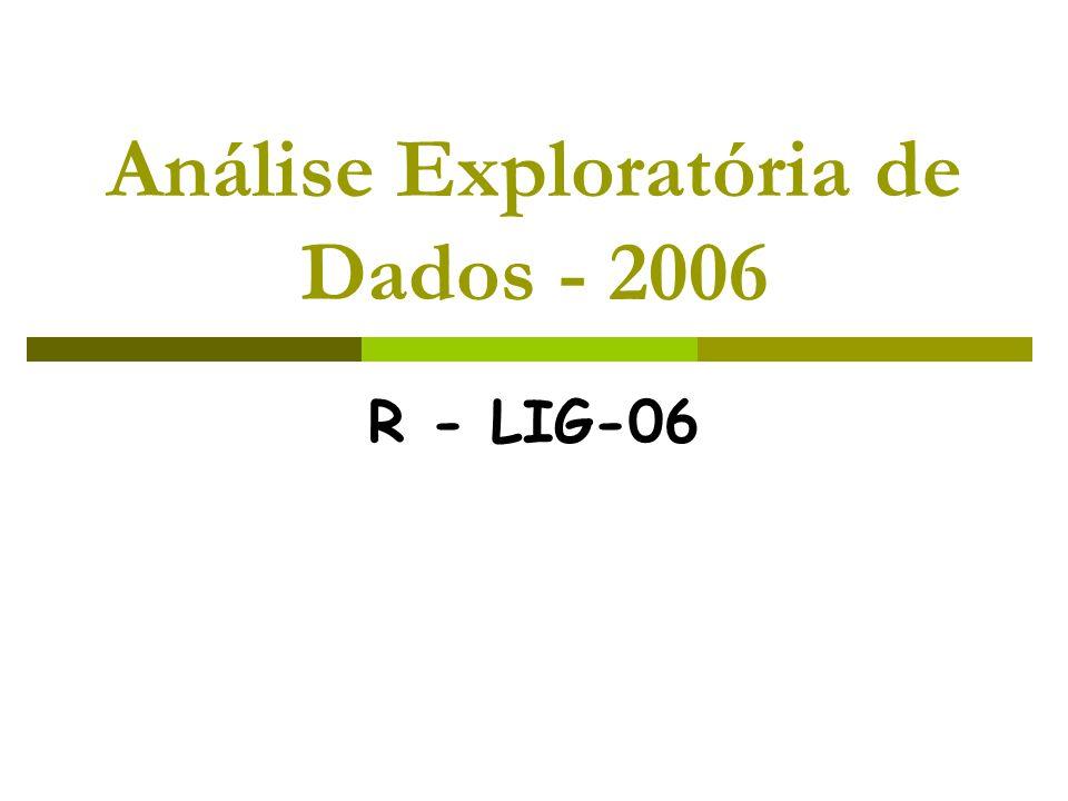 R - LIG-06 Análise Exploratória de Dados - 2006