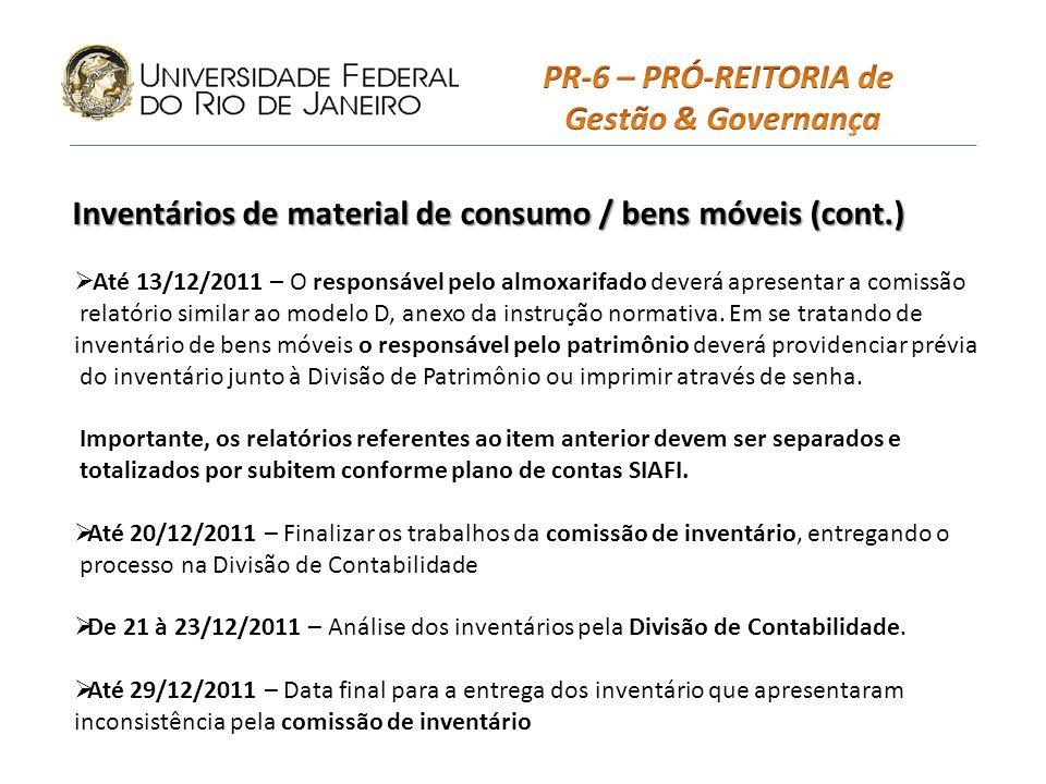 2 - Analisar a documentação comprobatória dos registros constantes no Relatório de Conformidade; 3 - Registrar, em até 3 dias úteis após a emissão do documento no SIAFI, a conformidade, por meio da transação ATUCONFREG (090401), indicando, caso se aplique, os códigos existentes na transação CONRESTREG (020314); 4 - Atualização até o fechamento do mês; 5 - Caso haja registro de restrição passível de correção, o fato deve ser apresentado ao responsável, e caso haja o ajuste, recomenda-se a alteração/retirada da restrição, caso a correção ocorra antes da data fixada para fechamento do mês.