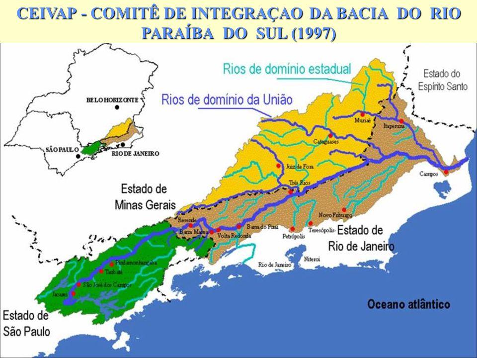 11 CEIVAP - COMITÊ DE INTEGRAÇAO DA BACIA DO RIO PARAÍBA DO SUL (1997)
