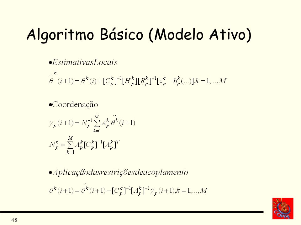 48 Algoritmo Básico (Modelo Ativo)