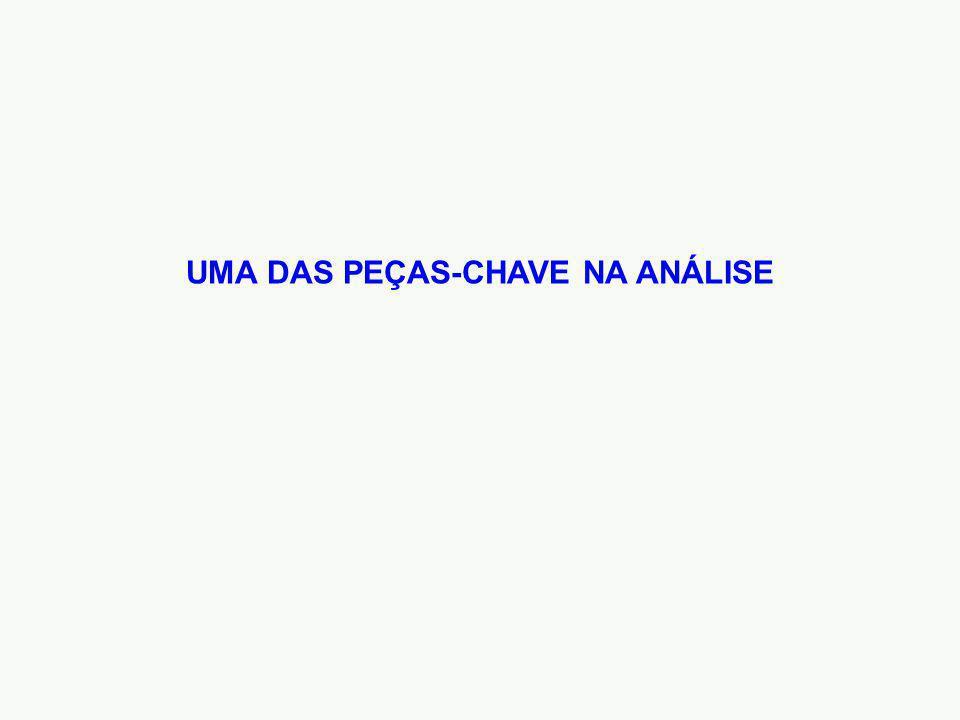 UMA DAS PEÇAS-CHAVE NA ANÁLISE