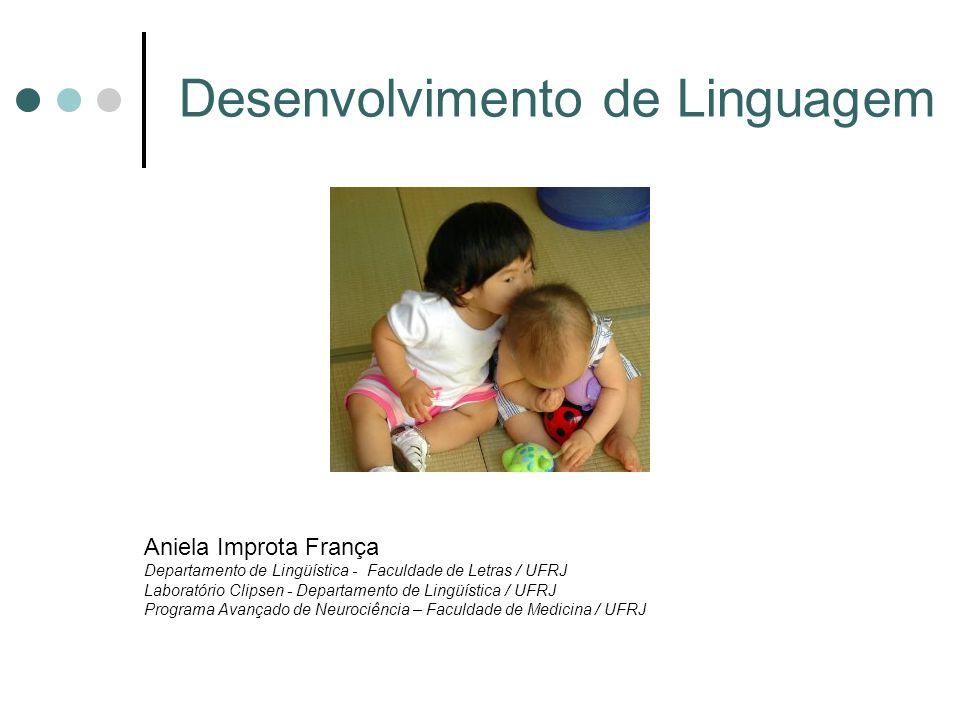 Então, como a linguagem se desenvolve.