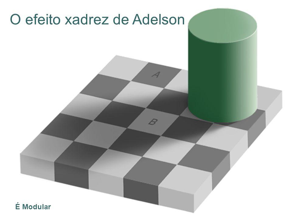 O efeito xadrez de Adelson É Modular