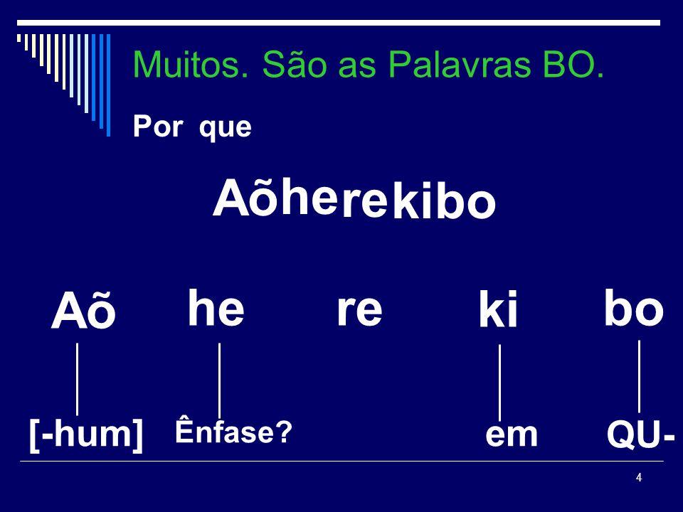 3 Kai hawyy -dee may t-e-wahi-ny-t-a Kai hawyy -dee may t-e-wahi-ny-t-a Você mulher -para faca 2p-vt-dar-verb-2p-pass Você mulher -para faca 2p-vt-dar-verb-2p-pass Você deu a faca para a mulher Você deu a faca para a mulher Características Lingüísticas do Karajá Uma língua SOV Sabemos que há muitos estudos demostrando a existência de sintagmas QU- nas línguas indoeuropéias.