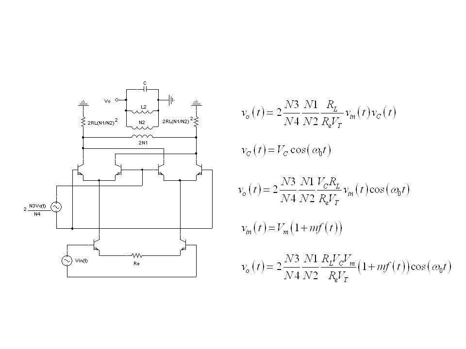 Demodulação AM Demodulador por Detecção de Pico de Envoltória Média geométrica