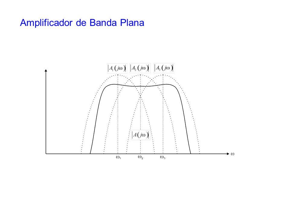 Amplificador de Banda Plana