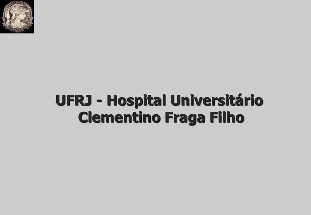 UFRJ - Hospital Universitário Clementino Fraga Filho