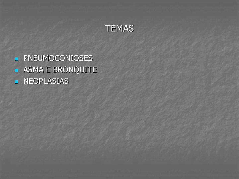 DOENÇAS RELACIONADAS AO ASBESTOS DOENÇAS RELACIONADAS AO ASBESTOS Comercialmente conhecido como amianto (quase 30 variedades).