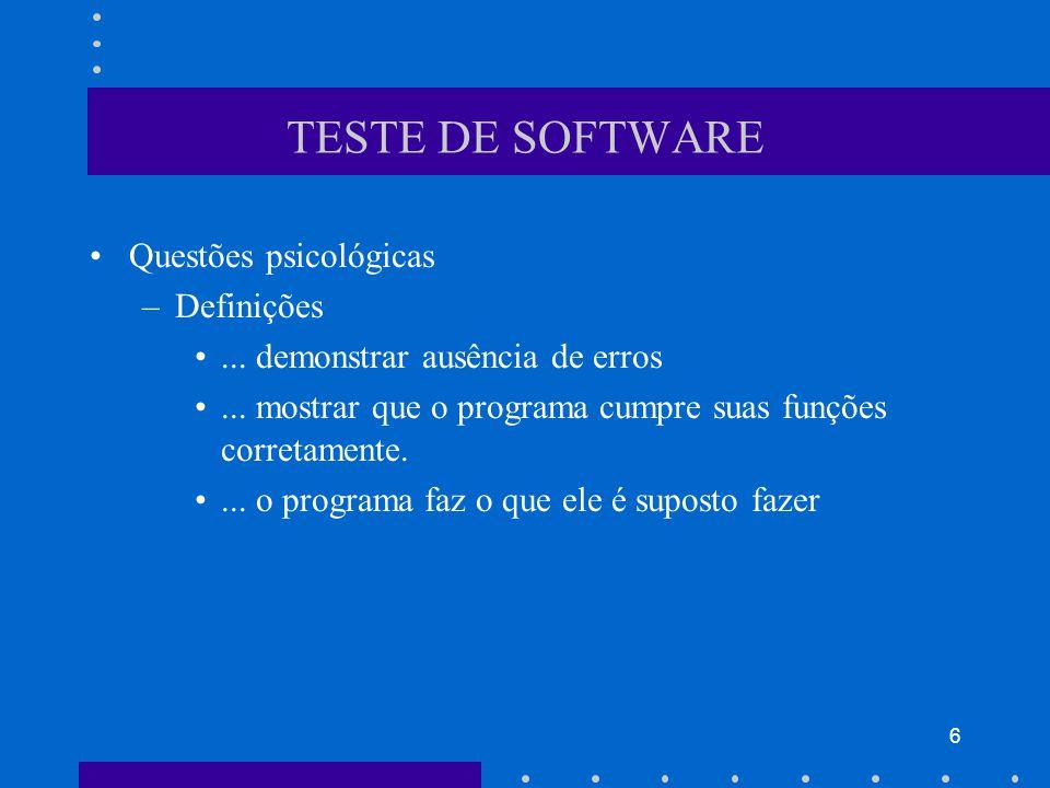37 BIBLIOGRAFIA Capítulo 14, Pressman, R., Engenharia de Software, 6 a edição, McGraw Hill, 2006.