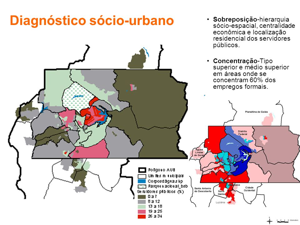 Sobreposição-hierarquia sócio-espacial, centralidade econômica e localização residencial dos servidores públicos.