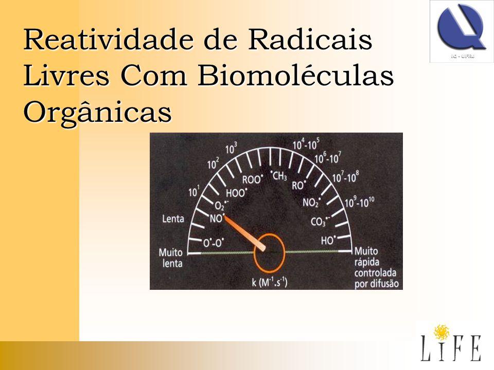 Reatividade de Radicais Livres Com Biomoléculas Orgânicas