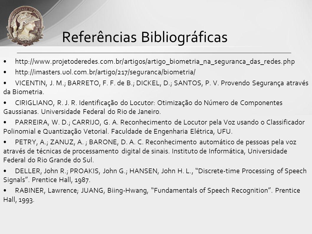 http://www.projetoderedes.com.br/artigos/artigo_biometria_na_seguranca_das_redes.php http://imasters.uol.com.br/artigo/217/seguranca/biometria/ VICENT