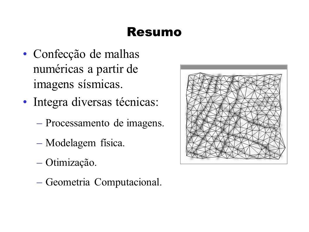 Reticulado Inicial O reticulado inicial de átomos deve ter as seguintes características: minimizar localmente a energia potencial atômica, ser altamente regular, ser consistente com a função de distância nominal.