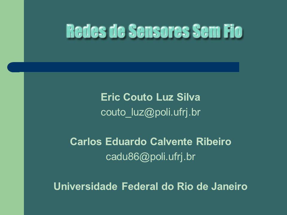 Eric Couto Luz Silva couto_luz@poli.ufrj.br Carlos Eduardo Calvente Ribeiro cadu86@poli.ufrj.br Universidade Federal do Rio de Janeiro