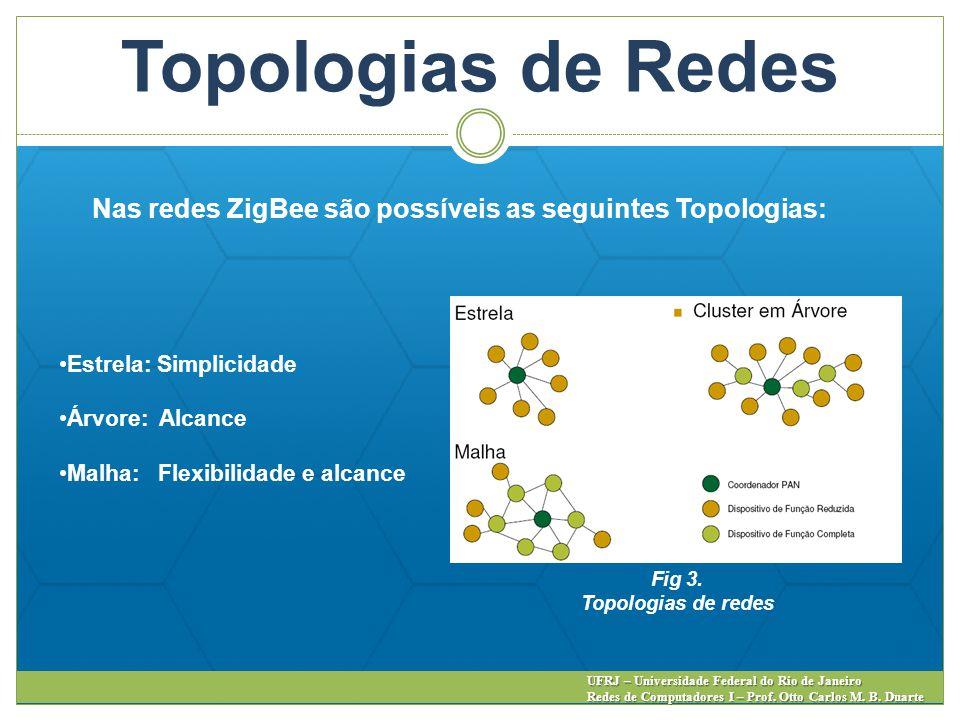 Topologias de Redes UFRJ – Universidade Federal do Rio de Janeiro Redes de Computadores I – Prof. Otto Carlos M. B. Duarte Estrela: Simplicidade Árvor