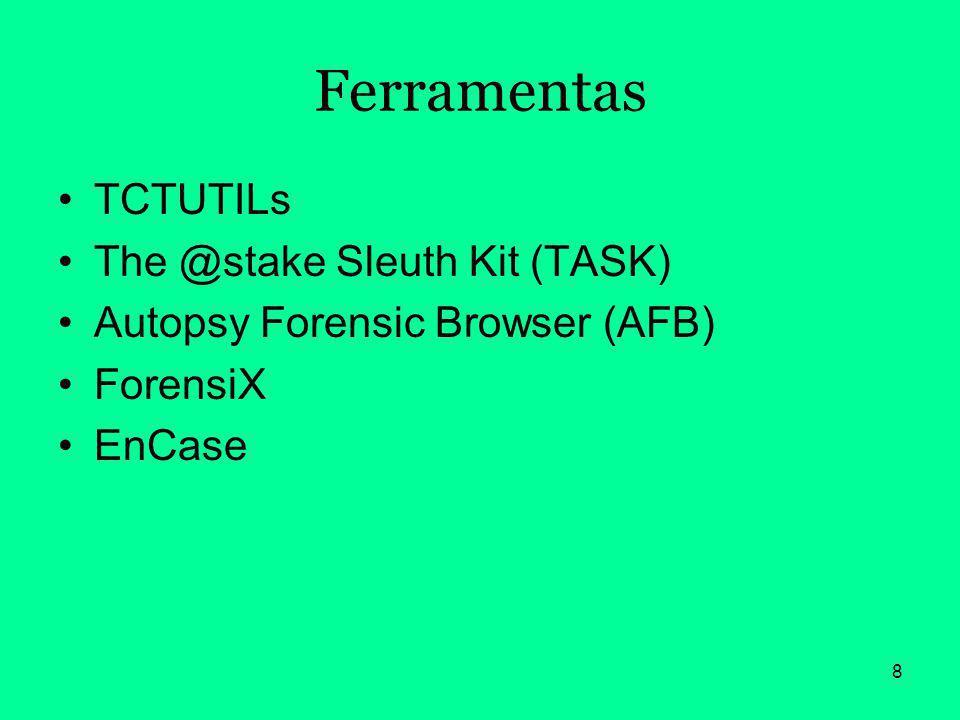 9 Anti-Análise Forense A anti-análise forense é a arte de esconder dados, informações e pistas após uma invasão de um sistema computacional.